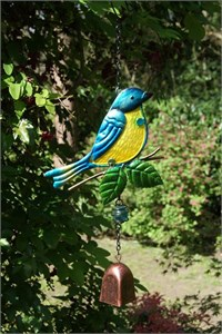 Blue Tit with Bell