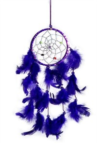 Metallic Hoop Dream Catcher, purple (11.5 cm)