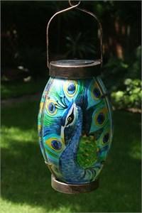 Peacock Solar Lantern