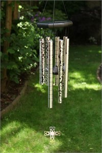 Wedding Words Wind Chime