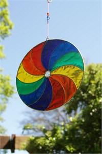 Swirly Rainbow Suncatcher