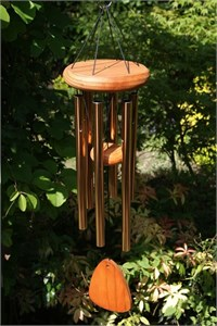 Festival 24 inch Wind Chime, bronze