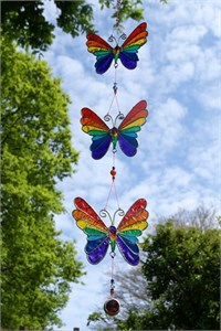 String of Rainbow Butterflies