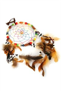 Dream Catcher with Coloured Beads