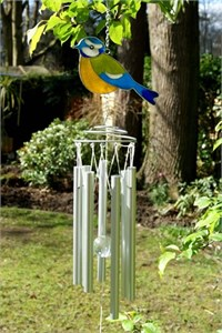 British Birds:  Blue Tit Wind Chime