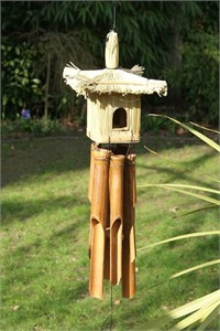 Toppori Birdhouse Wind Chime