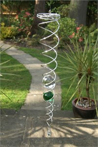 Crystal Vortex with Two Marbles