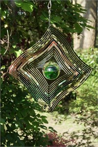 Diamond Wave Windspinner