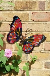 Pink Butterfly Wall Art