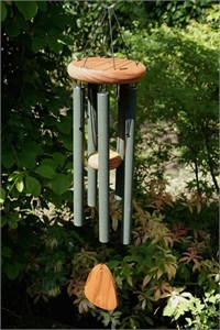 "Festival 28"" Wind Chime, forest green"