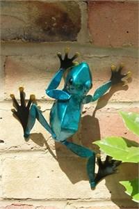 Blue Frog Wall Art