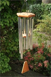 Arias 34 inch Silver Wind Chime