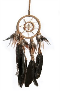 Hopi Dream Catcher, tan