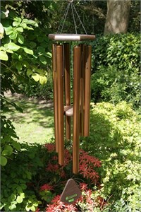 Nature's Melody Wind Chime, 42 inch bronze