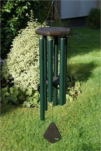 Nature's Melody Wind Chime, 36 inch forest green