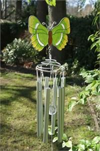 British Butterfly Wind Chime:  Green Hairstreak