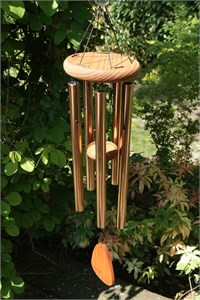Festival 28 inch Wind Chime, bronze