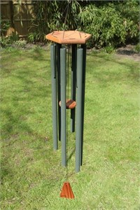 Arias 44 inch Forest Green Wind Chime