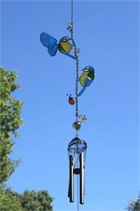 Blue Tits Wind Chime