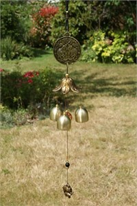 Oriental Bells with Twin Elephants