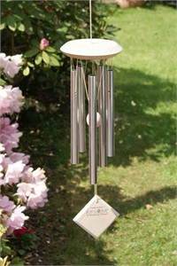 Woodstock Chimes of Mars, silver and white