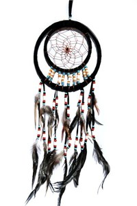 Pocohantas Dream Catcher, Black