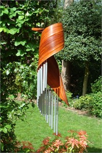 Calyx Spiral Wind Chime