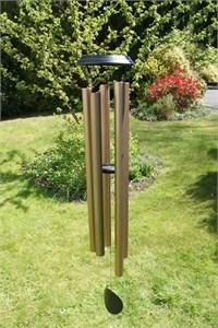 Concerto 60 inch wind chime, satin bronze