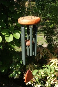 "Festival 18"" Wind Chime, forest green"