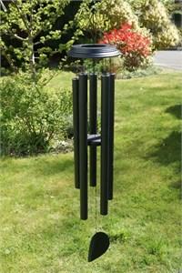 Concerto 48 inch wind chime, satin black