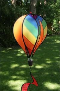 Large Hot Air Balloon Spinner, Sunburst