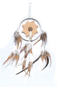 Araphaho Dream Catcher, white