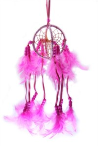 Celestial Dream Catcher, pink (7.5 cm)