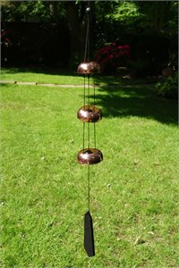 Nature's Melody 3 Copper Temple Bells,