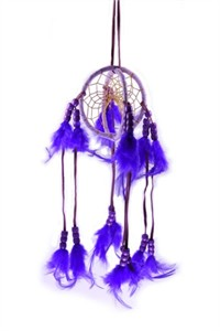 Celestial Dream Catcher, purple (7.5 cm)