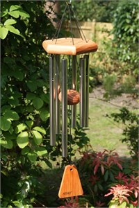 Arias 15 inch Silver Wind Chime