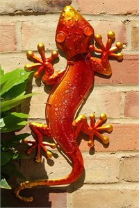 Orange Glass Gecko, 44 cm