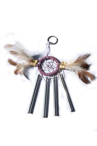 Dream Catcher with Chimes, lilac