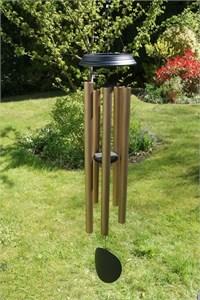 Concerto 48 inch wind chime, satin bronze