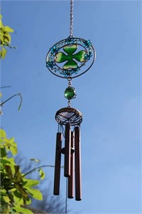 Four Leafed Clover Wind Chime