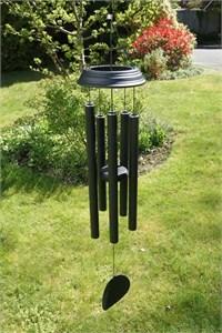 Concerto 36 inch wind chime, satin black
