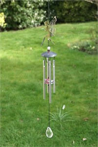 Fairy Wind Chime with Crystals