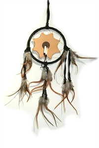 Arapaho Dream Catcher, black