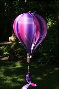 Large Hot Air Balloon Spinner, Passion