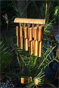 Serengeti Bamboo Wind Chime, medium