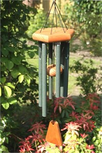 Arias 15 inch Forest Green Wind Chime