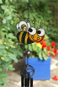 Happy Bee Wind Chime