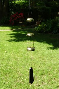 Nature's Melody 3 Brass Temple Bells,