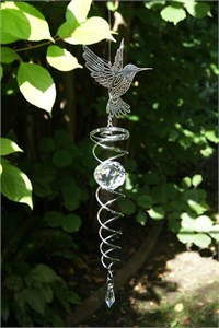 Crystal Vortex Spinner, Hummingbird
