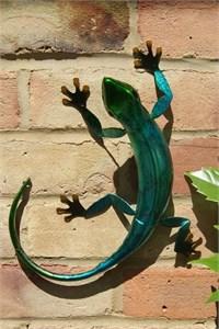 Blue Metal Gecko, 27 cm